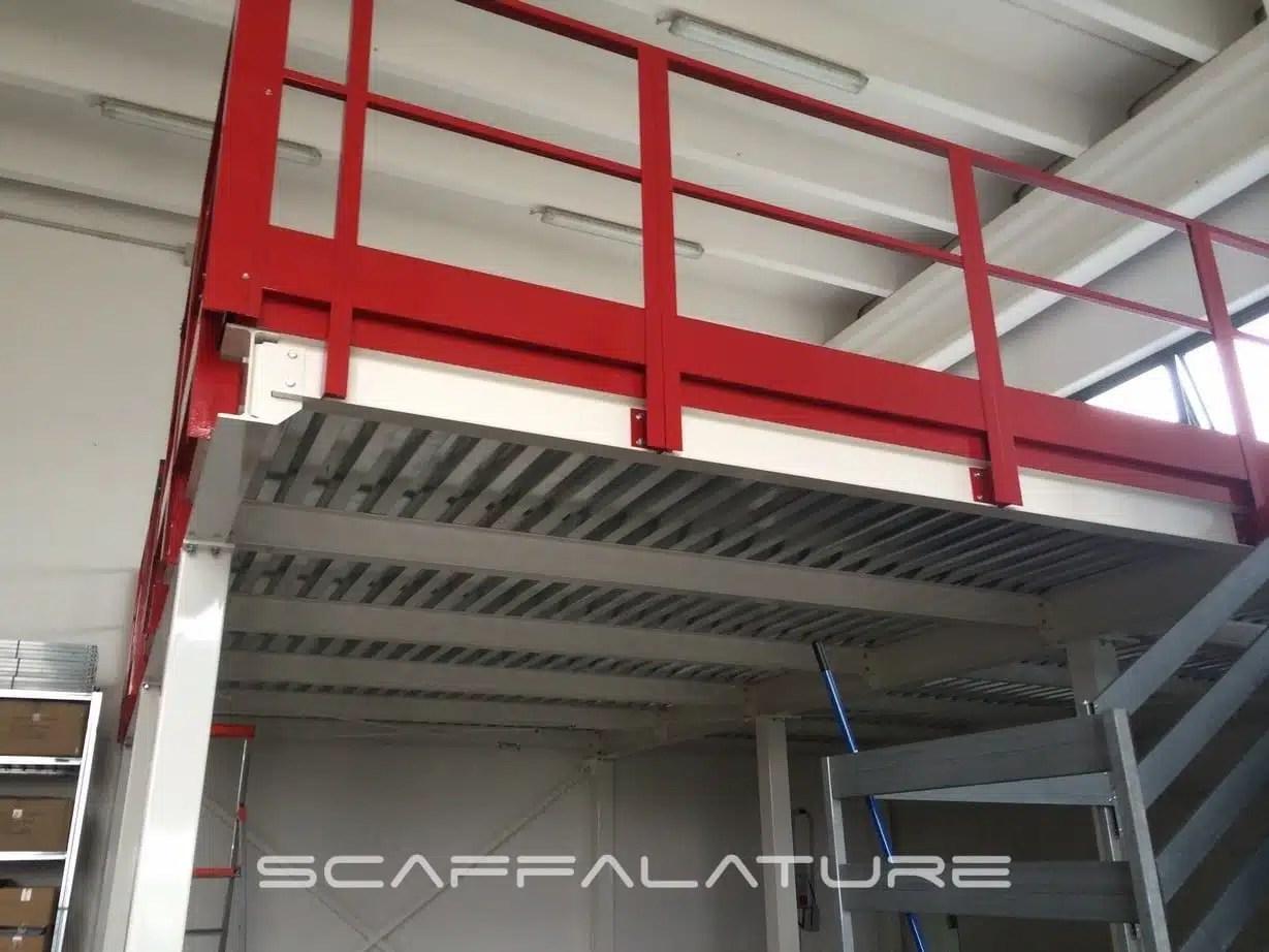 Scaffalature E Soppalchi.Soppalchi Industriali Palladio Es300 Da Venticinque Metri Quadrati