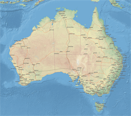 ScalableMaps  Vector maps of Australia for Illustrator Vector map of Australia