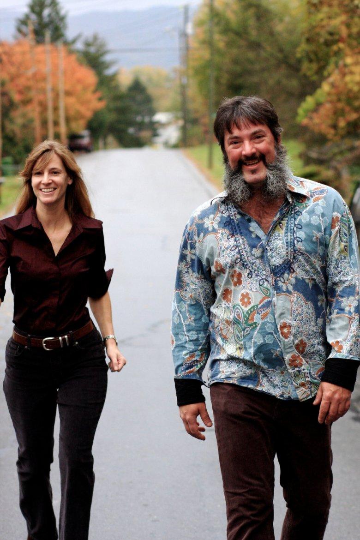 Jenny and Larry Keel. Courtesy Larry Keel.