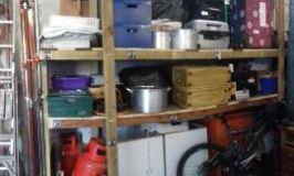 New Storage Racks for Fair Equipment
