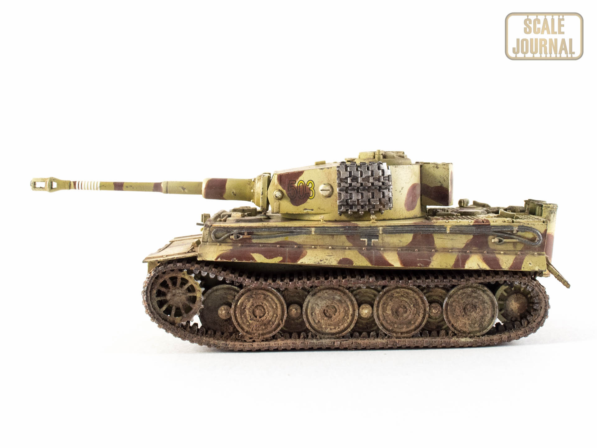 Tiger I Late version, Trumpeter 1/72