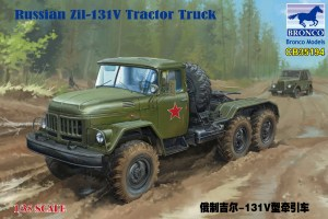 Bronco Russian Zil-131V Tractor Truck  CB35194 (1)