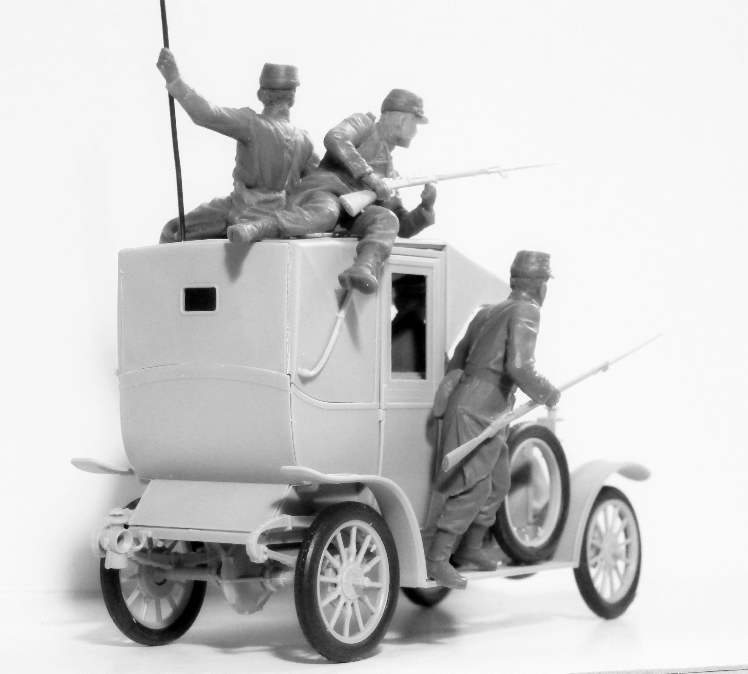 1/35 35705 Французская пехота на марше (1914 г.) \ French Infantry on the march (1914) (4 figures) (100% new molds)