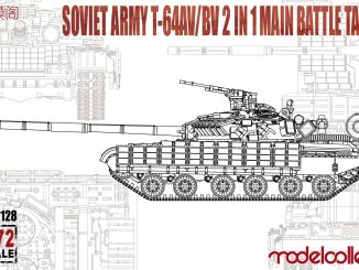 ModelCollect 1/72 Soviet Army T-64AV/BV 2 IN 1 Main Battle Tank UA72128