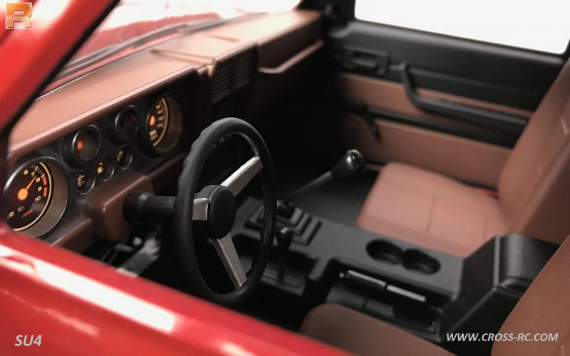 cross rc su4 interior