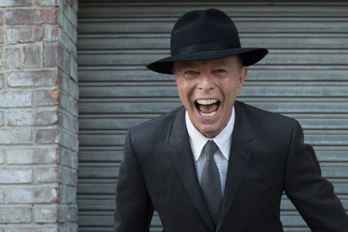 Late photo of David Bowie