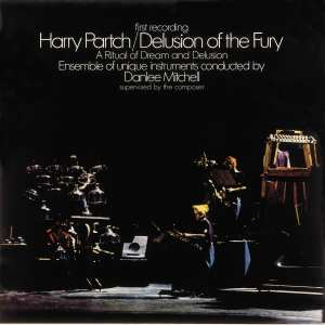 Album cover for Delusion of the Fury by Harry Partch