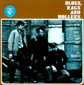 Album cover for Blues, Rags and Hollers by Koerner, Ray and Glover