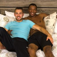 GuysInSweatPants - Charles takes Dante's Loads - Charles King, Dante Colle