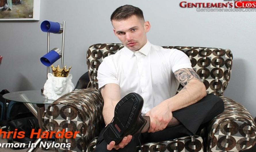 GentlemensCloset – Mormon in Nylons – Chris Harder