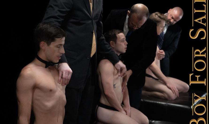 BoyForSale – BOYS AUSTIN, DANNY, JAY & COLE – Group Auction Orgy