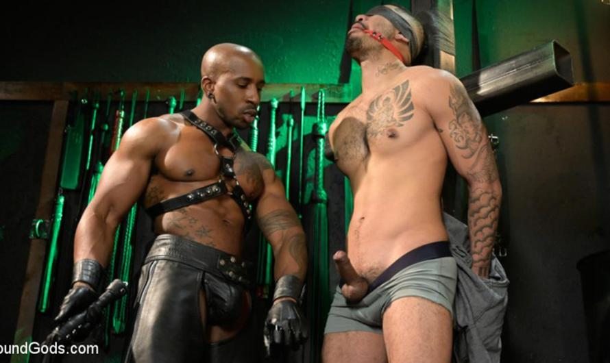 BoundGods – Yes, Sir: Jon Darra Submits to Muscle-Stud, Max Konnor