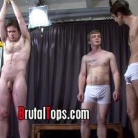 Masters Lucas & Tom return to complete the vicious mistreatment of pathetic sub elliott