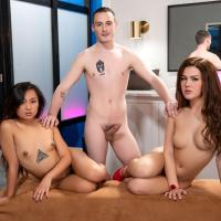 TransAngels - A Very Hot Frost Glass - Daisy Taylor, Josh Cannon, Elle Voneva