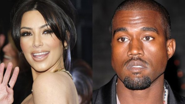 Kim Kardashian and Kayne West