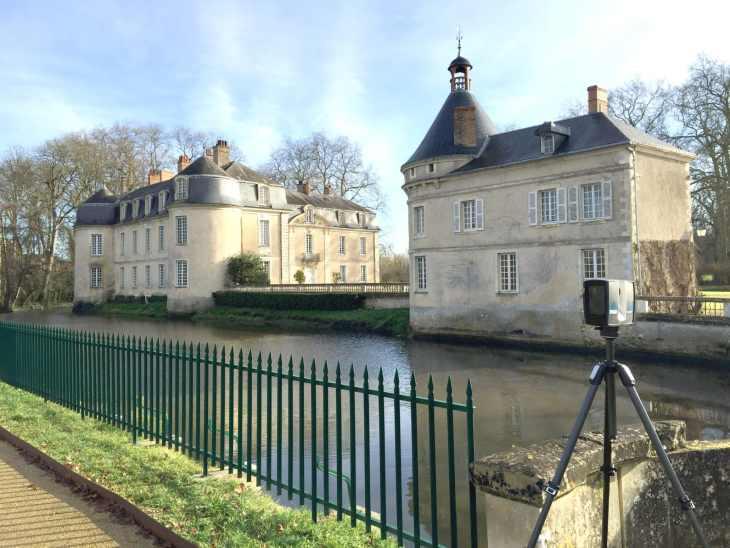 Numérisation extérieure du Château de Malicorne