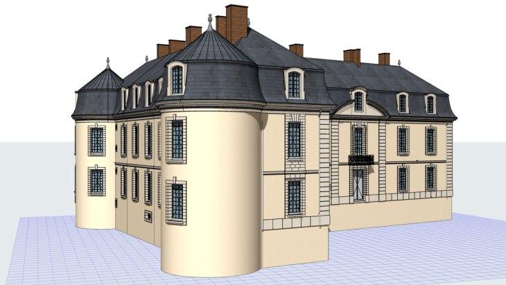 Modélisation 3D d'un château