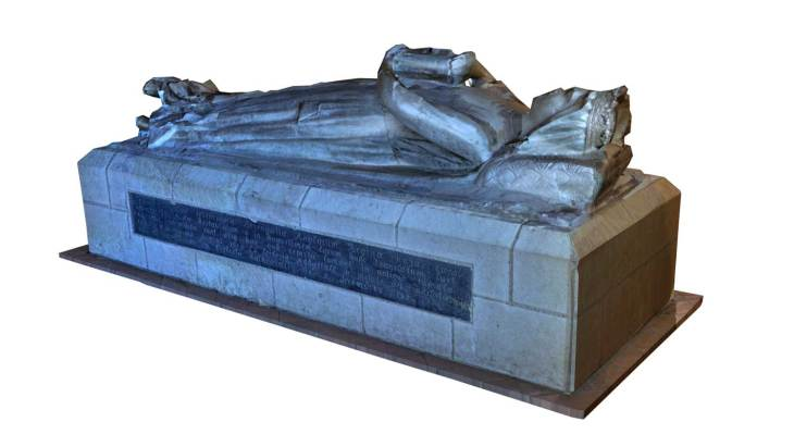 Exemple de reconstruction pour un gisant
