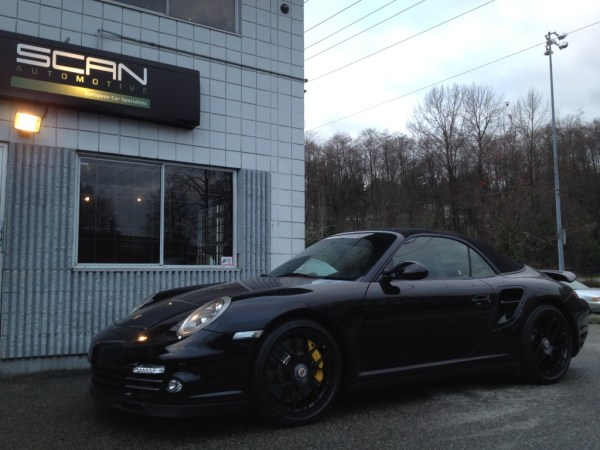 2012 Turbo S Cabriolet – Black