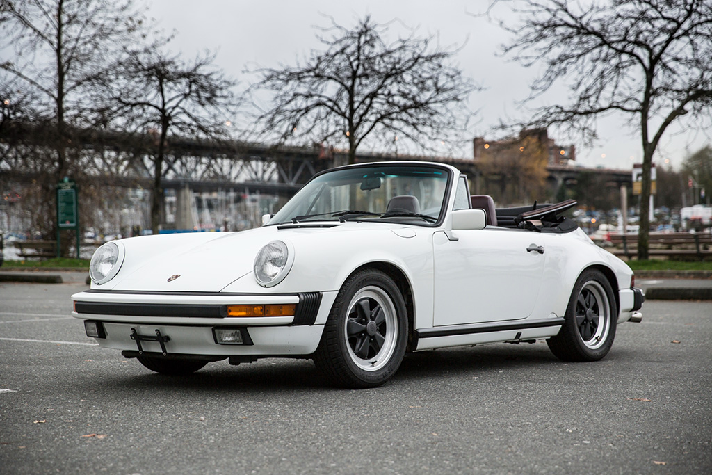 1988 Porsche 911 Carrera Cabriolet Scan Automotive