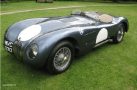 The Jaguar C-Type Sports Car