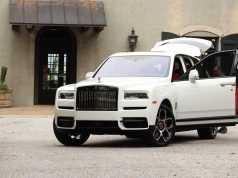 Най-скандалното SUV - Rolls Royce Black Badge