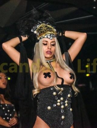 Топ скандалната блондинка – Кристин