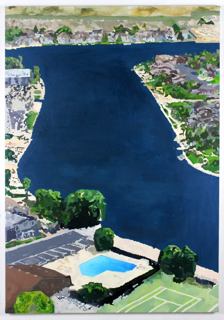 Grant Wells, SCANDALE Project, Painting, art, contemporary art, contemporary, emerging artist, artist, location, visual culture, landscape, visual art, scandaleproject,
