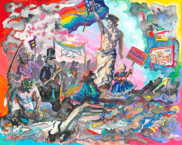 "BOOTSTRAPS, ArtHelix Gallery, ""Grassroots Art + Activism"", curated by Joe Milo, SCANDALEPROJECT, curator, visual artist, design, artist, contemporary artist, emerging artist, art installation, visual art, photography, photographer, painter, painting, art exhibition, exhibition view, creation, artist, contemporary art, art scandal project, scandale project,"