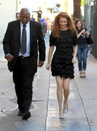 Darby Stanchfield visits 'Jimmy Kimmel Live!' in Hollywood
