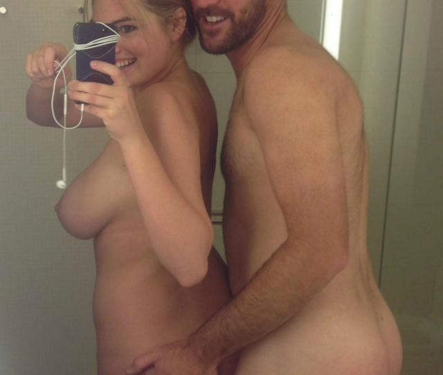 Kate Upton Selfie With Boyfriend