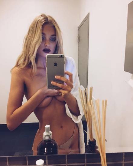 Elsa Hosk Nude & Topless Pics And LEAKED Porn Video 50