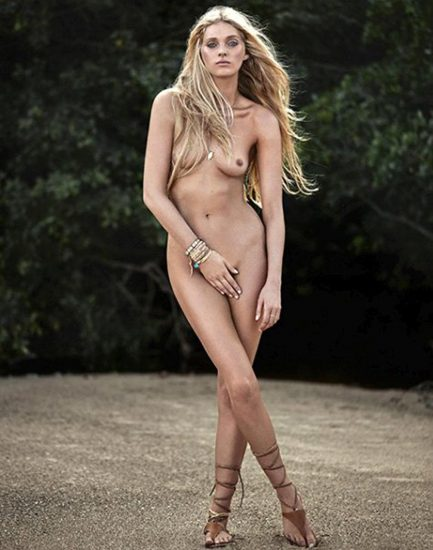 Elsa Hosk Nude & Topless Pics And LEAKED Porn Video 32