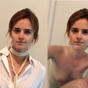 Emma Watson naked leaked selfie