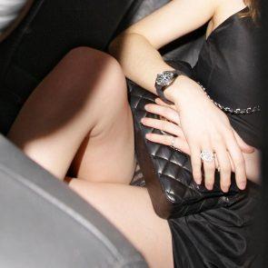 Emma Watson pussy through panties
