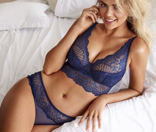 Kate Upton Sexy Lingerie Boobs