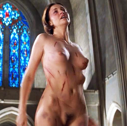 Charlize Theron Nude Tits Bush In The Devils Advocate Movie Scandal Planet