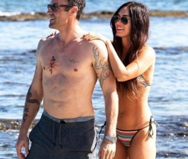 Megan Fox In Bikini With Her Husband Brian Austin Green In Hawaii