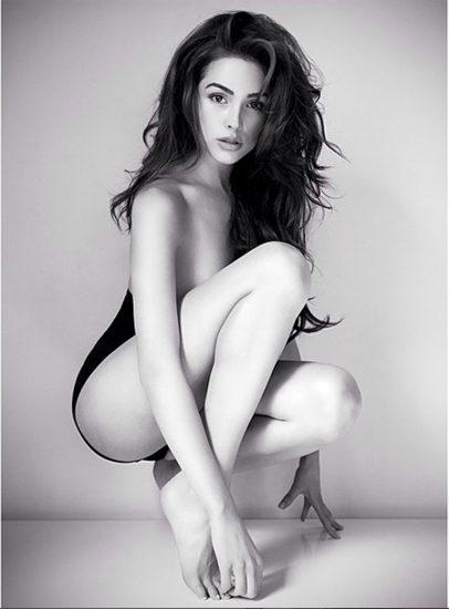 Olivia Culpo hot long legs