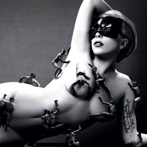 Lady Gaga Nude ULTIMATE Compilation 20