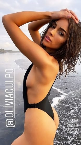 Olivia Culpo Nude & Topless ULTIMATE Collection 90