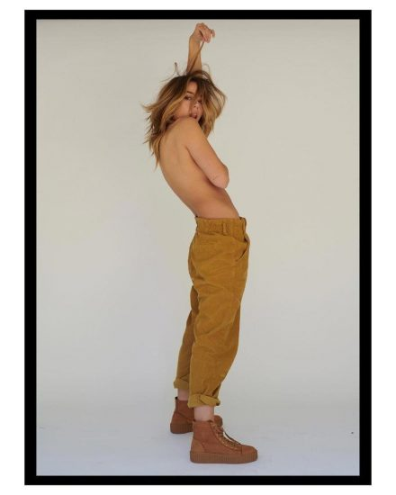 Chloe Bennett topless