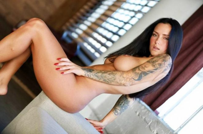 Kayla Lauren naked boobs