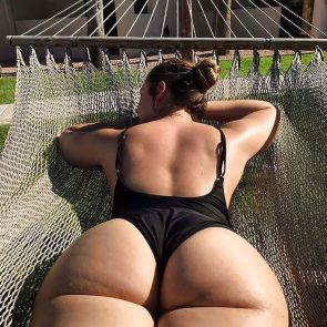 Nia Jax nude ass in bikini