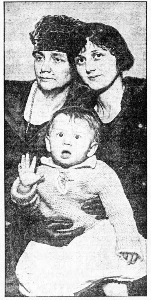 Catherine, Susan Reid and Baby Richard