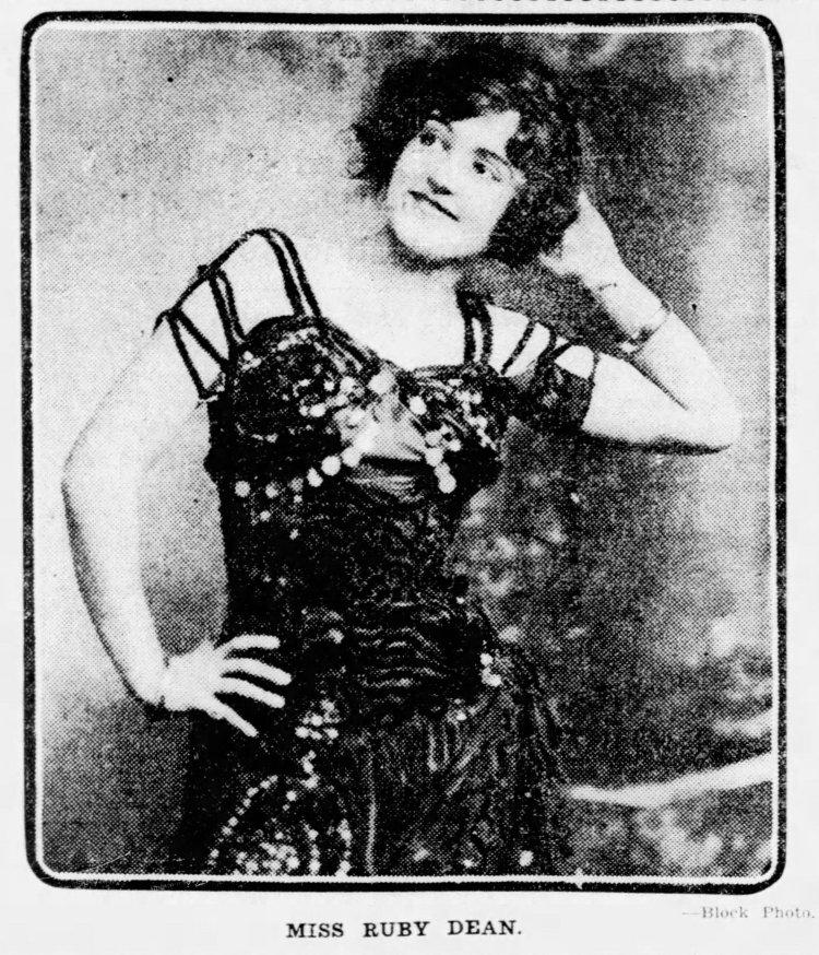 Beautiful Cabaret Singer Ruby Dean accused of murder