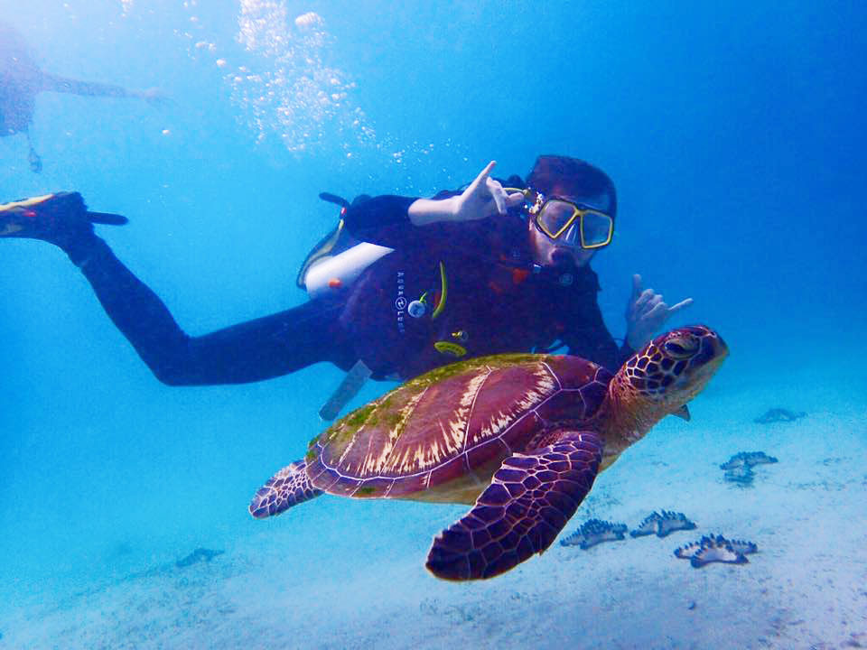 school college university scuba diving trips in puerto galera