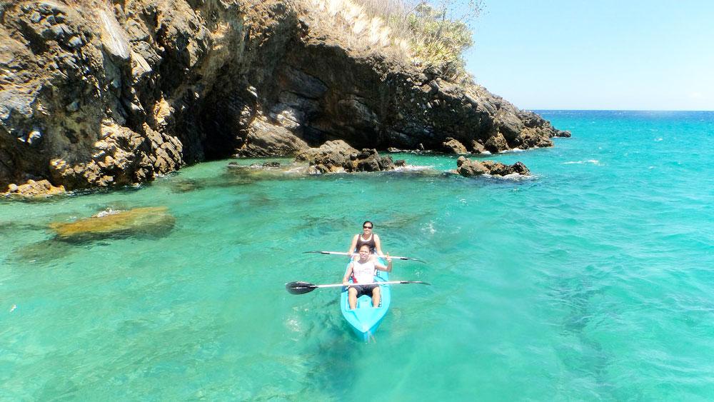 kayaking puerto galera philippines