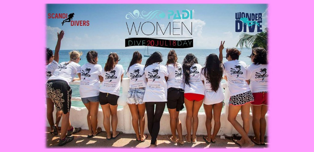 padi womens dive day 2018