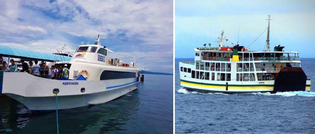 batangas to puerto galera fastcraft roro